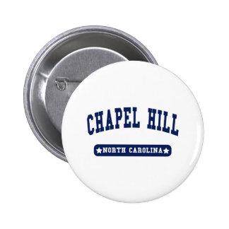 Chapel Hill North Carolina College Style tee shirt Button