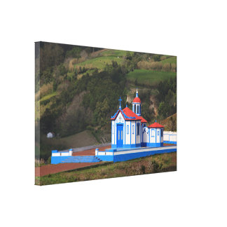 Chapel in Agua de Pau Canvas Print