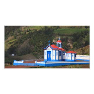 Chapel in Agua de Pau Card