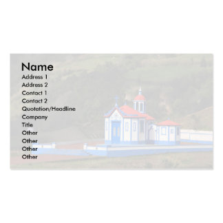 Chapel in Agua de Pau Double-Sided Standard Business Cards (Pack Of 100)