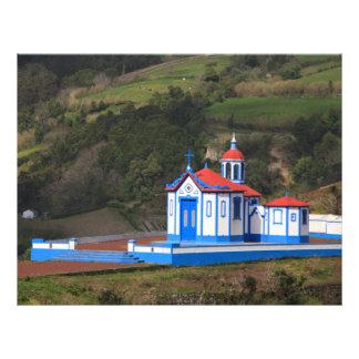 """Chapel in Agua de Pau 8.5"""" X 11"""" Flyer"""