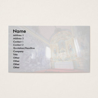 Chapel in Azores Business Card