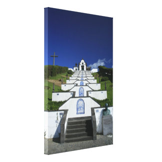 Chapel in Azores Canvas Print