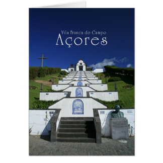 Chapel in Azores Card