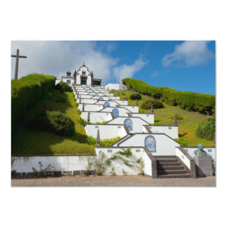 Chapel in Azores islands Card