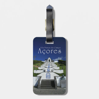 Chapel in Azores Luggage Tag
