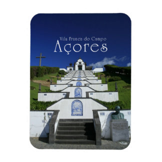 Chapel in Azores Magnet