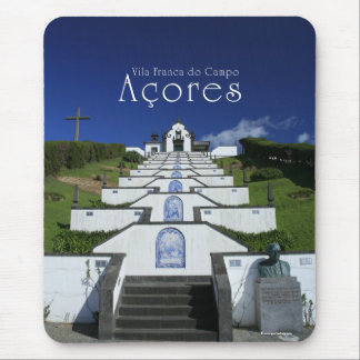 Chapel in Azores Mouse Pad