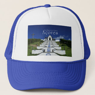 Chapel in Azores Trucker Hat