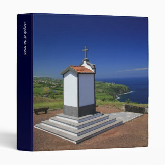 Chapel in the Azores 3 Ring Binder