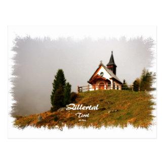 Chapel in the Zillertal Postcard