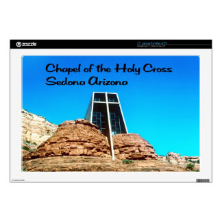 """Chapel of the Holy Cross 17"""" Laptop Skins"""