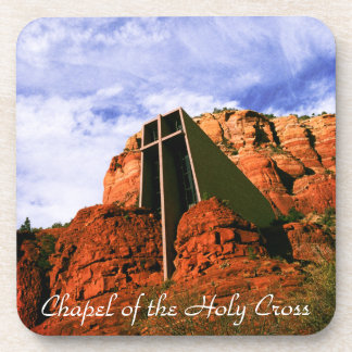 Chapel of the Holy Cross R816 Beverage Coaster