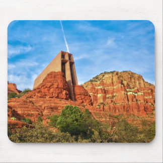 Chapel of the Holy Cross Sedona, AZ Mousepad