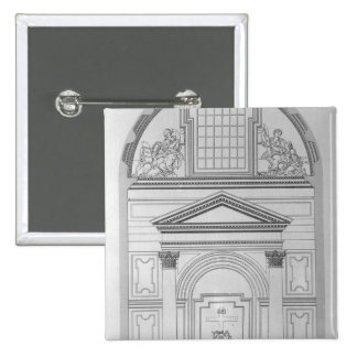 Chapel of the Pieta in St.Peter's 2 Inch Square Button