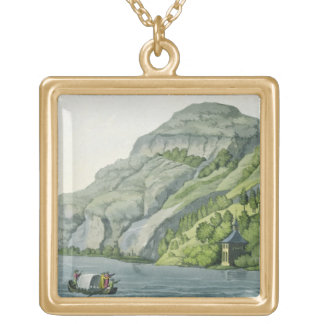 Chapel of William Tell, from 'Customs of the Vario Square Pendant Necklace
