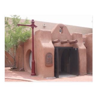 Chapel, Old Town, Albuquerque, NM Postcard