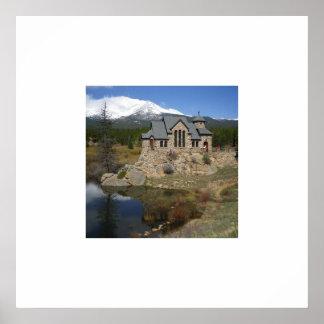 Chapel on the Rock Print