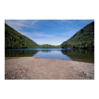 Chapel pond in the Adirondacks print 167
