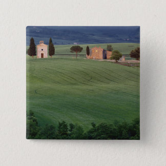 Chapel San Quirico d'Orcia, Tuscany, Italy Pinback Button