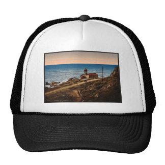 Chapel St. Ampeglio, San Remo, Riviera vintage Pho Trucker Hats