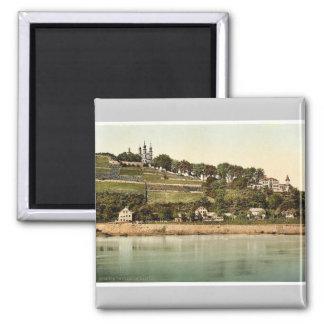 Chapel, Wurzburg, Bavaria, Germany rare Photochrom Magnet