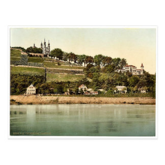 Chapel, Wurzburg, Bavaria, Germany rare Photochrom Postcard