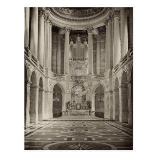 Chapelle Royale, Château Versalles Postales