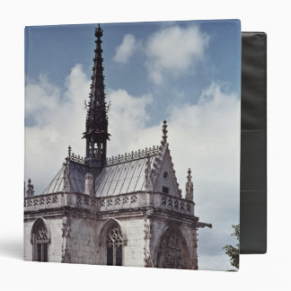 Chapelle Saint-Hubert of the Chateau Amboise 3 Ring Binder