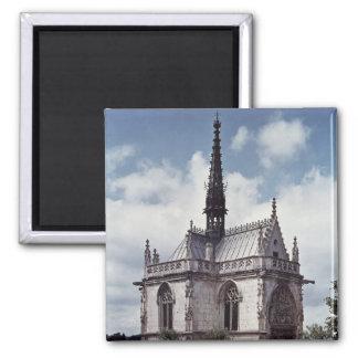 Chapelle Santo-Huberto del castillo francés Ambois Imán Cuadrado