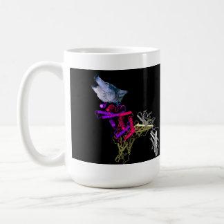 Chaperone en el salvaje taza de café
