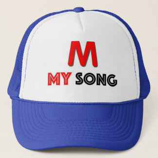 CHAPEU MARCA MY SONG TRUCKER HAT
