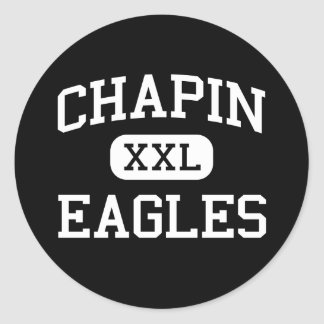 Chapin - Eagles - High - Chapin South Carolina Classic Round Sticker