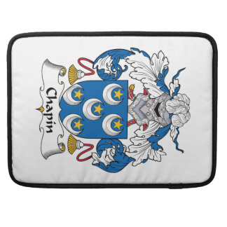 Chapin Family Crest Sleeve For MacBooks