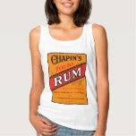 Chapins Pure Old Rum Label Tank Top