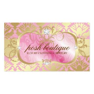 Chapista rosado pródigo 311 y reflejo de oro del tarjetas de visita