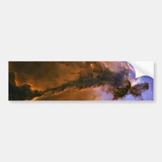 Chapitel del gas en el espacio de la nebulosa de E Pegatina Para Auto