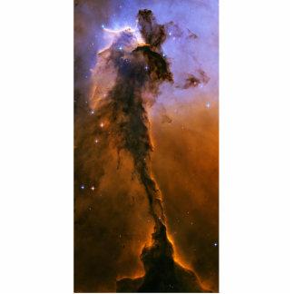 Chapitel del gas en la nebulosa de Eagle Fotoescultura Vertical