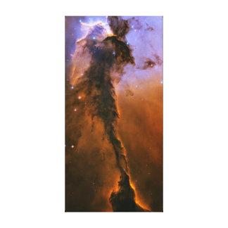 Chapitel del gas en la nebulosa de Eagle Impresion De Lienzo