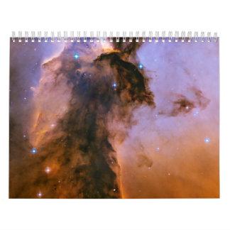 Chapitel estelar en la nebulosa de Eagle Calendario