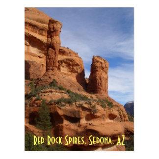 Chapiteles rojos de la roca, Sedona, AZ Postales