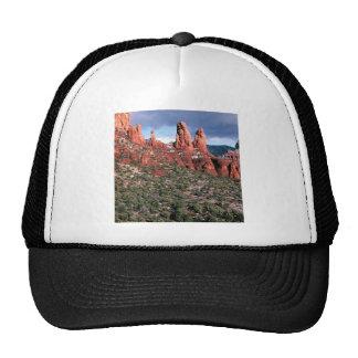 Chapiteles rojos Sedona Arizona de las rocas Gorro De Camionero