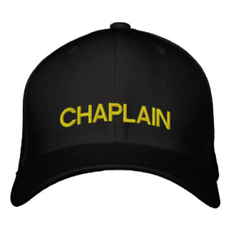 CHAPLAIN cap Embroidered Hat