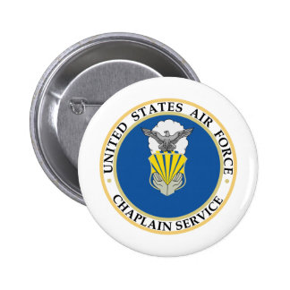 Chaplain Service Insignia Pinback Buttons