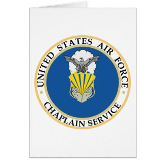 Chaplain Service Insignia Greeting Cards