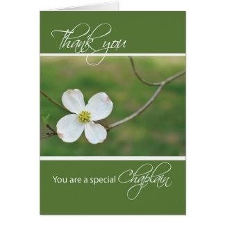 Chaplain Thank You Dogwood Blossom Card