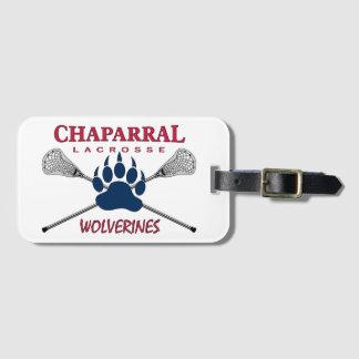 ChapLAX Claw Logo on White - Luggage Tag