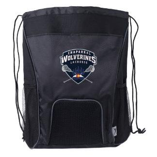 ChapLAX Sticks Shield Drawstring Backpack