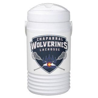 ChapLAX Sticks Shield Igloo Half Gallon Beverage Beverage Cooler