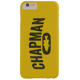 Chapman Bass Fishing Logo - Vintage Mustard Yellow Barely There iPhone 6 Plus Case